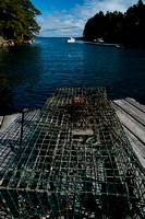 Lobster Trap, Back Cove New Harbor Maine