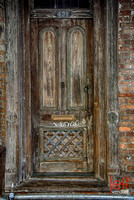 New Orleans, Old Tagged Door