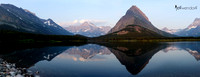 Swift Currrent Lake at Many Glaciers, Glacier National Park