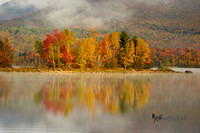 Chittenden Reservoir in the fall