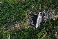 Waterfall along Going to the Sun Road, Glacier Park