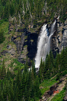 Waterfall taken on the Going to the Sun Road, Glacier Park